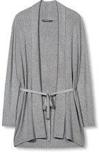 ESPRIT Collection 997eo1i801, Cardigan Donna, Grigio (Grey 5), 40 (Taglia Produttore: Large)