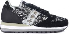 Sneaker Saucony Jazz Triple in suede nero e pizzo LIMITED EDITION