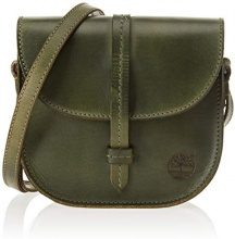 Timberland TB0M5863, Borsa a Tracolla Donna, Verde (Forest Night), 6x24x30 cm (W x H x L)