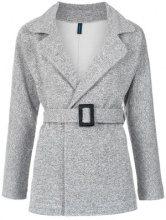 - Lygia & Nanny - Tamarine sweat coat - women - fibra sintetica/cotone - 44, 38, 46, 40, 48, 42 - Rajado Cinza