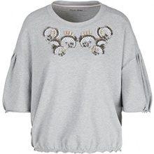 Marc Cain Sports Sweat-Shirt, Felpa Donna, Mehrfarbig (Grey 820), 42