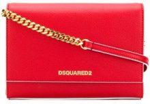 - Dsquared2 - Borsa a spalla - women - Leather - Taglia Unica - Rosso