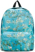 - Vans - blossom print back pack - women - Polyester/Leather - Taglia Unica - Blu