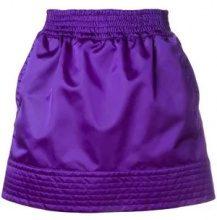 - Nº21 - high shine sporty skirt - women - fibra sintetica - 44 - di colore viola