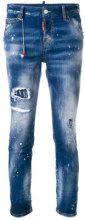 - Dsquared2 - Jeans 'Cool Girl' - women - fibra sintetica/cotone - 42 - di colore blu