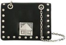 - Sonia Rykiel - Mini borsa con borchie - women - pelle - Taglia Unica - di colore nero