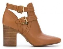 - Michael Michael Kors - Blaze ankle boots - women - pelle di vitello/gomma/pelle - 8, 10, 7, 9, 6 - color marrone