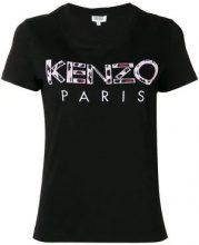 - Kenzo - T - shirt con logo - women - cotone - M, L, XS, S - di colore nero