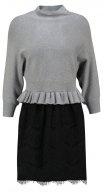 LARA - Vestito di maglia - grey