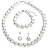 Berydale Set di gioielli in madreperla - Collana, bracciale, orecchini