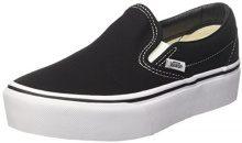 Vans Classic Slip-on Platform, Sneaker Infilare Donna, Nero (Black Blk), 41 EU