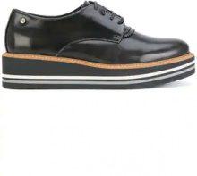 - Tommy Hilfiger - Scarpe con lacci - women - pelle di vitello/fibra sintetica/pelle/gomma - 41, 38, 39 - color marrone