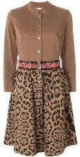 - Bazar Deluxe - Chemisier con stampa leopardo - women - cotone/fibra sintetica - 42 - color marrone