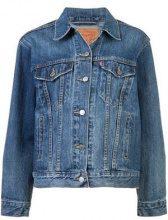 - Levi's - Ex - Boyfriend Trucker jacket - women - cotone - XS , S, M - di colore blu