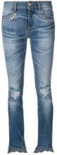 - Just Cavalli - distressed skinny jeans - women - fibra sintetica/cotone/fibra sinteticacotonepelle di vitello - 25, 30, 26, 31, 27, 28, 24, 29 - di...