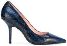 - Anna F. - snakeskin effect pumps - women - pelle - 38, 39, 37.5, 36 - di colore blu