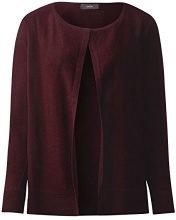 Cecil 252627, Cardigan Donna, Rosso (Maroon Red Melange 10654), XX-Large