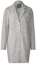 Street One 100419, Cappotto Donna, Grau (Soft Grey Melange 11358), 44