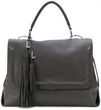 - Liu Jo - Moscova tassel tote bag - women - fibra sintetica - Taglia Unica - di colore grigio