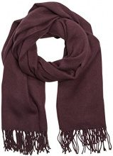 PIECES - New Eira Wool Scarf, Sciarpa da donna, marrone (chipmunk), unica (Taglia produttore: unica)