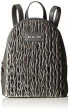 Love Moschino Borsa Fabric Grigio - Borse a zainetto Donna, Grau (Grey), 28x22x10 cm (B x H T)