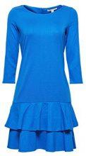 ESPRIT 038ee1e009, Vestito Donna, Blu (Bright Blue 2 411), X-Large