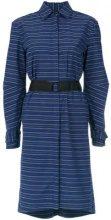 - Tufi Duek - striped belted coat - women - cotone - 46, 38, 44 - di colore blu