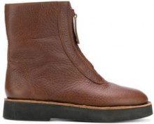 - Camper - Tyra boots - women - cotone/pelle/gomma/pellefibra sintetica - 35, 38, 36, 39, 37 - color marrone
