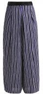 Pantaloni - blau/weiß/schwarz
