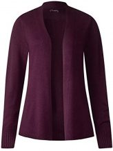 Street One 252694, Cardigan Donna, Violett (Mystique Berry 11422), 46