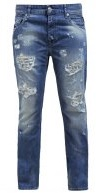 GRACELLY - Jeans baggy - dark-blue denim