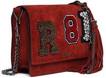 REPLAY Fw3788.001.a3054 - Borse a tracolla Donna, Rosso (Red Carpet), 7x17x25 cm (B x H T)