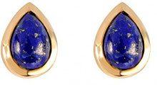 Ivy Gems Donna 9 carati oro giallo Pera blu Lapis lazzuli