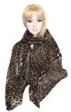 Sciarpa Calonice Amorino da donna stampa leopardata colorata 100% Poliestere (L) 185x95 cm (LxH) 4000