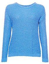 ESPRIT 038ee1i004, Felpa Donna, Blu (Blue 430), Large
