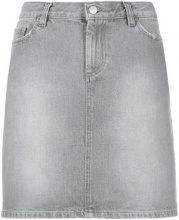 - Helmut Lang Vintage - Minigonna di jeans - women - cotone - 42 - di colore grigio