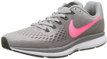 Nike Air Zoom Pegasus 34, Scarpe Running Donna, (Racer Pink/Vast Grey 605), 40.5 EU