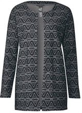 Street One 312042, Cardigan Donna, (Black 20001), 44