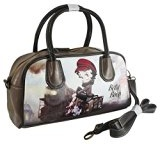 Betty Boop Train Borsa Donna Bauletto a Mano Spalla Tracolla Clutch