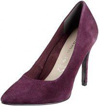 Tamaris 22443-31, Scarpe con Tacco Donna, Rosso (Dk. Purple 546), 38 EU