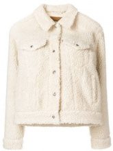 - Levi's - Giacca in shearling - women - fibra sintetica - M, L - color carne