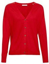 edc by Esprit 078cc1i004, Cardigan Donna, Rosso (Red 630), Medium
