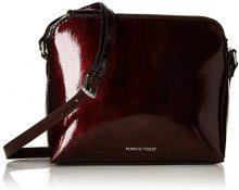 Marco Tozzi 61007-21 - Borse a spalla Donna, Rosso (Chianti Patent), 23x20x5 cm (B x H T)