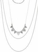 Pieces PCPLINA Collana silvercoloured
