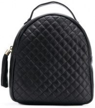 - Tosca Blu - quilted backpack - women - pelle di vitello - Taglia Unica - di colore nero