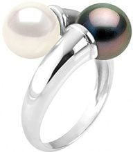 Pearls & Colors Anello da anniversario Donna - AM18-BAGAG-121-R7-WHTAH/54