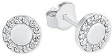 s.Oliver   925  argento    bianco Zirconia cubica FINEEARRING