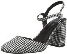 New Look Wide Foot Robin, Scarpe con Cinturino alla Caviglia Donna, Nero (Black Pattern 9), 42 EU