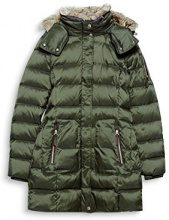 ESPRIT 097ee1g045, Giubbotto Donna, Verde (Bottle Green 385), X-Small