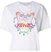 - Kenzo - Tiger print T - shirt - women - cotone - S, L - di colore grigio